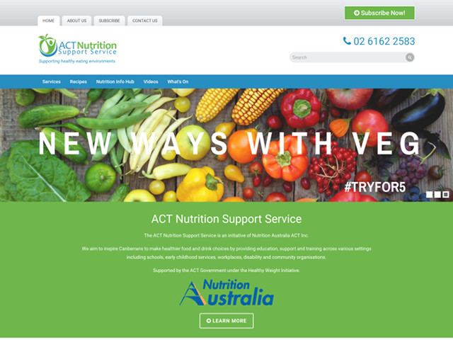 ACT Nutrition Support Service